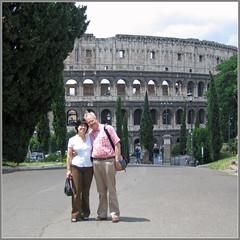 Three old ruins... (Xerones) Tags: park rome roma self colosseum ann celian rome2006 mtfpicsaround monticelio mtfyorkuk mtfyork