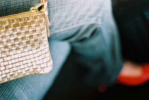 Bag, jeans and shoes
