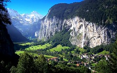 Land of Glory (gms) Tags: cliff alps wow switzerland waterfall scenery postcard glorious alpine valley sigh lauterbrunnen jungfrau yearning lauterbrunnental