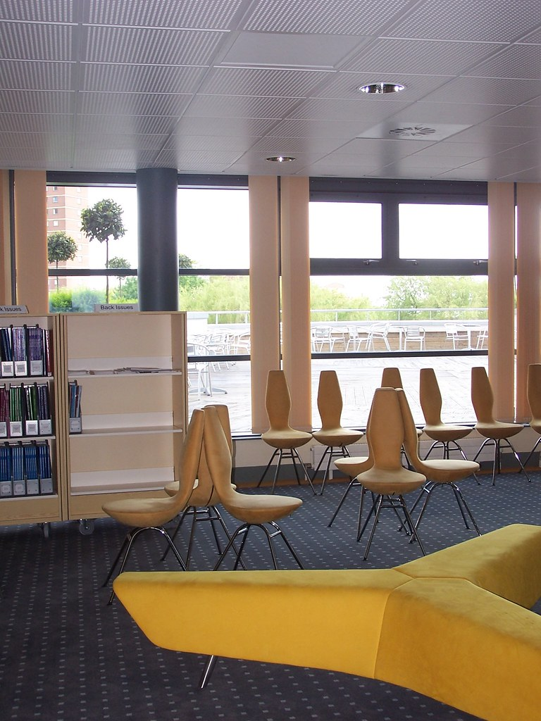 Library Seating, Matthew Boulton Campus, Birmingham Metropolitan College