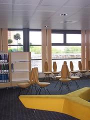 Library Seating, Matthew Boulton Campus, Birmingham Metropolitan College - by jisc_infonet