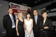 that's Beijing 2006 Reader Restaurant Awards - 7 (the Beijinger Magazine) Tags: china friends party people food celebrity bar magazine fun happy restaurant photo joy beijing 2006 best celebration winner prize    win awards  foreign expats success celebrate foreigners won lounger expat  foreigner     authoritative      tbj   thatsbj