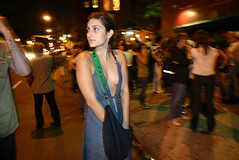 (andreafrancob) Tags: street york newyorkcity friends party portrait people urban music woman newyork girl rock brooklyn bar club night noche mujer downtown photographer dress andrea manhattan chest parties identity franco vestido rockandroll verite peruvian pecho peruana conceptualism vrit andreafranco peruvianphotographer girlphotographer fotografaperuana