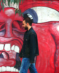 In the court of the crimson king (preju_13) Tags: urban crimson graffiti king murales piombino cotone