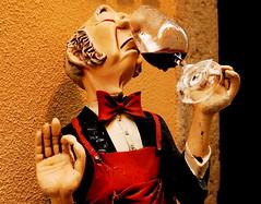 Lugten af rødvin fra Portugal