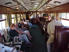 Rovos Rail, Observation car
