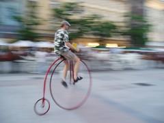 Guy riding Pennyfarthing  Bicycle (tbertor1) Tags: bicycle tulio bertorini