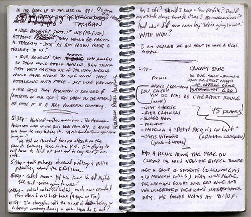 2001 Europe Journal 1 - writing example 2 - a photo on Flickriver