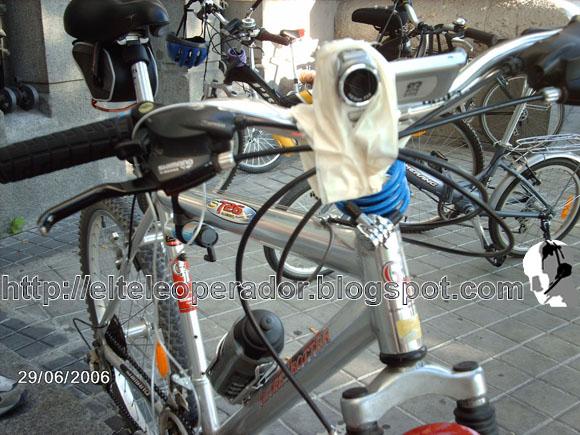 Cámara en bici