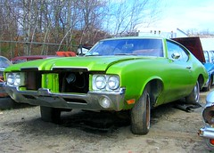 1971 Oldsmobile Cutlass (Plumerjr) Tags: 1971 71 junkyard oldsmobile cutlass f85