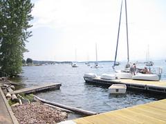 dock (andrewrosenstock) Tags: vacation vermont 4th july 2006 andrew rosenstock