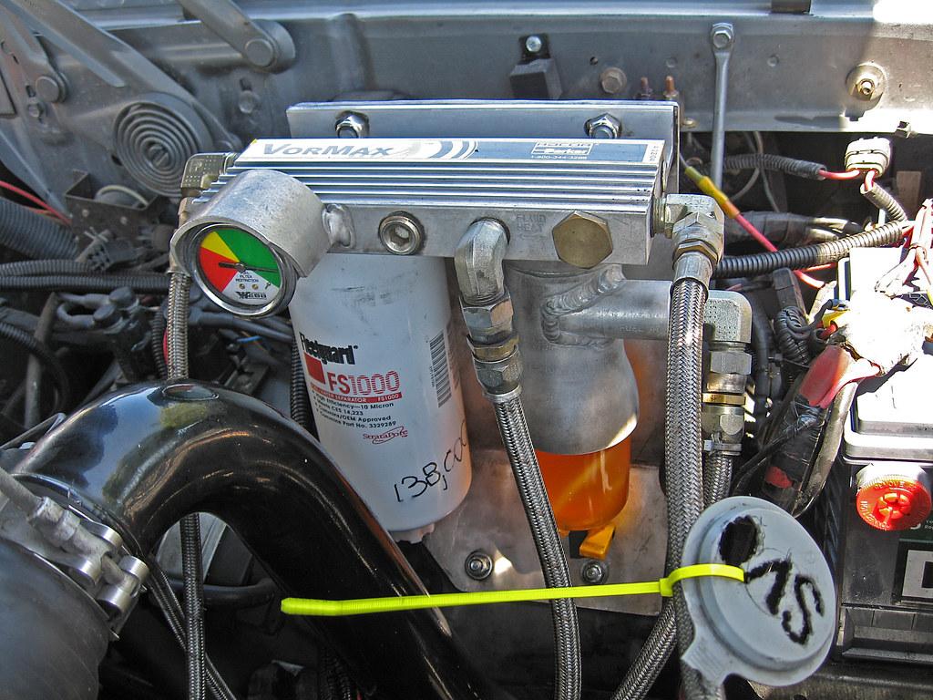 VorMax fuel filtration system