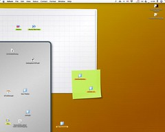 Layered Desktop in use