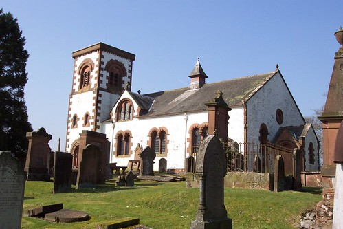 Irongray church, Dumfries & Galloway (SW Scotland)