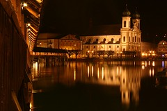 Kappelerbridge and Baroque church at Night - Luzern - Switzerland ({ Planet Adventure }) Tags: longexposure travel favorite reflection 20d beautiful eos switzerland amazing cool holidays europe flickr canon20d explorer great luzern diversity ab adventure backpacking 100views winner stunning planet iwasthere nightshots tagging canoneos allrightsreserved havingfun aroundtheworld faved onflickr copyright visittheworld travelphotos 200mostinteresting facinating traveltheworld travelphotographs canonphotography alwaysbecapturing worldtraveller planetadventure lovephotography beautyissimple visitswitzerland theworlthroughmyeyes baroquechurch tedesafio luzernatnight kappelerbridge challengeyouwinner selectedasfave peopleseemtolike supperb imveryproudof flickriscool loveyourphotos theworldthroughmylenses greatcaptures shotingtheworld by{planetadventure} byalessandrobehling icanon icancanon canonrocks selftaughtphotographer phographyisart travellingisfun copyright20002006alessandroabehling allinteresting allswitzerland justswitzerland greatswitzerland