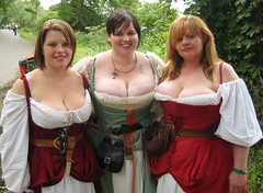 Buxom mediaeval babes (Arkadyevna) Tags: fermidaily saturday fayre vote1 mediaeval tewkesbury week50