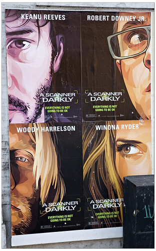 A Scanner Darkly Polyptych