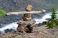 inukshuk (inklake) Tags: canada nature rainbow britishcolumbia daily falls rockface glacier kiss2 yohonationalpark takakkawfalls kiss1 inklake fourfavs fourfavs2 fourfavs3