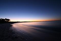 Silky Twilight - Jervis Bay Australia (down_the_rabbit_hole) Tags: ocean sunset sky nature water landscape bay coast twilight long exposure dusk australia fcsea