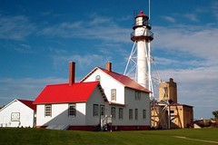Whitefish Point Lighthouse (heidigoseek) Tags: usa lighthouse up mi michigan upperpeninsula whitefishpoint geo:lat=46945575 geo:lon=8481308