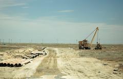 Planning a pipeline (Shemya) Tags: kazakhstan  tengiz