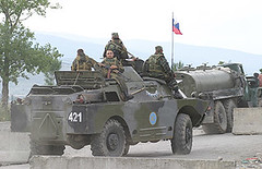 Russian army vehicles crosses the border to South Ossetia (randbild) Tags: georgia war uniform gun peace fotograf photographer tank flag military south photojournalism republik krieg camouflage caucasus conflict soldiers guns uniforms gus russian weapons soldaten panzer armed photojournalist sakartvelo militr sd russen kalashnikov kaukasus tarnung waffen russisch udssr sowjetunion fotoreportage uniformen allrightsreserved kalaschnikow unrecognized fotojournalismus konflikt anerkannt  photoreportage ossetia ossetien sakartwelo georgiengeorgia southossetian sdossetien nichtanerkannt tskhinvali bewaffnet photojournalismus randbild timovogt fotojournalist againstcensorship zkhinvali