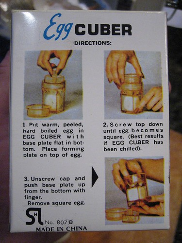 Egg Cuber directions by Andrew Huff.