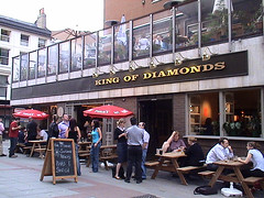 King of Diamonds (Welsh Icons (Dom)) Tags: london bar pubs kingofdiamonds