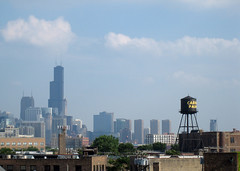 these are the days of talc and lemonade (suttonhoo) Tags: city summer chicago skyline watercistern shalliputitontheunderhillaccountseñor