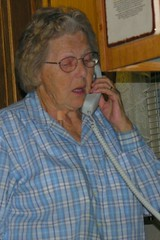 grandma mary on the phone by TSE