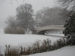 Bow Bridge in the snow (Phil Eager) Tags: nyc newyorkcity winter snow centralpark bowbridge