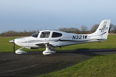 Cirrus Design Corporation Cirrus SR20 GTS  N321W (Old Buck Shots) Tags: keith sowter egsv