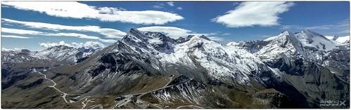 Panoramablick von der Edelweissspitze
