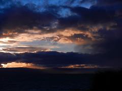 Almost gone (LeelooDallas) Tags: australia tasmania freycinet peninsula sky cloud wineglass bay woods tree forest landscape dana iwachow sunset nikon coolpix s9100