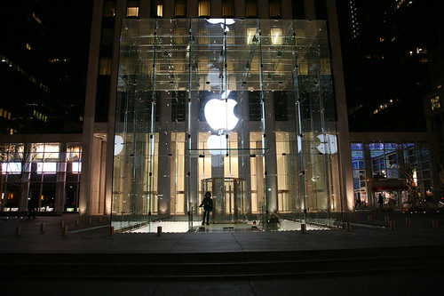 24 Hour Apple Store in New York
