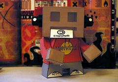 Melvind StickerRobot (-gene-) Tags: bear toy robot sticker melvind
