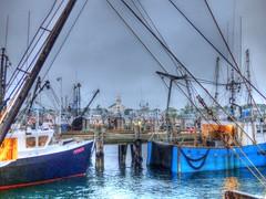 (mahler9) Tags: june fog night boats pier boat fishing ship nightshot provincetown capecod newengland wharf hdr macmillan jaym 2015 masachusetts mahler9