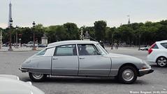 Citron DS 21 (XBXG) Tags: auto old paris france classic car vintage french automobile 21 ds citron voiture frankrijk ancienne tiburn snoek citronds desse franaise strijkijzer 60ansdelads bq189pc
