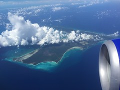 Bahamas from the air (Andrew Gatt) Tags: puerto rico 2015