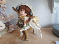Luts GO boxopening (~Akara~) Tags: pink brown ball dorothy doll cookie tiny bjd luts delf limited hansel gretel centaur tdf jointed mytyl
