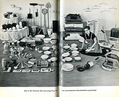 Das praktische Haushaltsbuch, 1958 Bild 16 (altpapiersammler) Tags: old vintage furniture alt 50s möbel household housewife einrichtung hausfrau habitation wohnen 50ies 50er haushalt hausrat haushaltsgerät