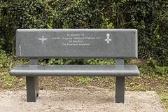 Blidworth Church Graveyard Sgt. Willetts GC Memorial Seat (Benedictine1) Tags: cemetery memorial cross military aap sacredspace year2015