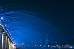 Rainbow Bridge II (Miquel Llagostera) Tags: contrast temple korea seoul vacaciones templo seul vactions