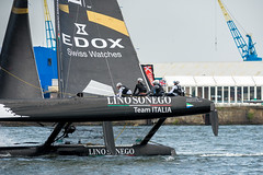 @ Cardiff Bay Extreme sailing (technodean2000) Tags: uk sea water wales boats bay nikon sailing south extreme cardiff sails sigma crew sail mast lightroom d610