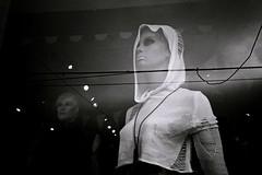 DE057 (David Swift Photography Thanks for 21 million view) Tags: reflection film philadelphia 35mm mirror clothing mannequins shops kodaktrix storefronts stores fishtown yashicat4 clothingshop davidswiftphotography