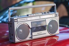 Panasonic RX-5180LS (Andrey) Tags: panasonic national japan stereo audio cassette tape am fm radio closeup landscape summer oldschool accura diamatic ys 85 non stop music