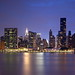 NYC Midtown East from Queens, Blue Hour