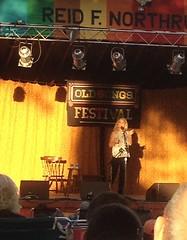 Sheila Kay (mudder_bbc) Tags: people newyork june festivals albany performers folkmusic storyteller traditionalmusic altamont folkfestival oldsongs clawhammerbanjo balladsinger sheilakayadams