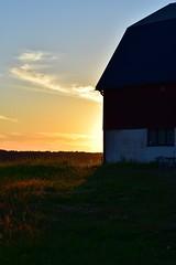 DSC_0106 (Lotsig) Tags: summer night barn lada sommar solnedgng summernight ng kvll kungsngen sommarkvll