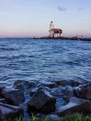 Lighthouse on Marken Island Sunset (vlad.stawizki) Tags: lighthouse holland netherlands landscape island marken